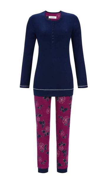 Damen Schlafanzug RINGELLA  Gr. 42