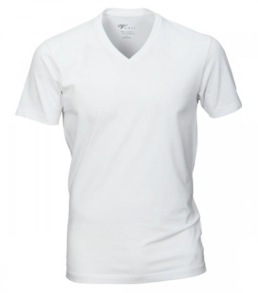 Herren T-Shirt V-Ausschnitt Doppelpack, Casa Moda